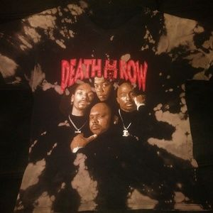 Vintage Death Row Records Shirt (Black/Multi)